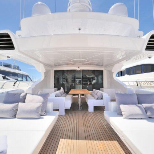 progetto arredo per yacht